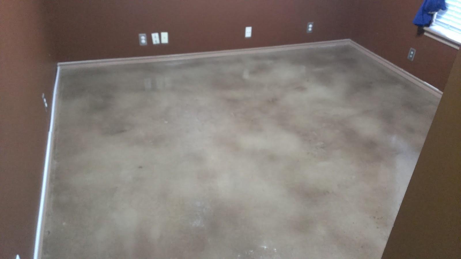 Epoxy Floor Coatings Bedroom Floor Stained Concrete