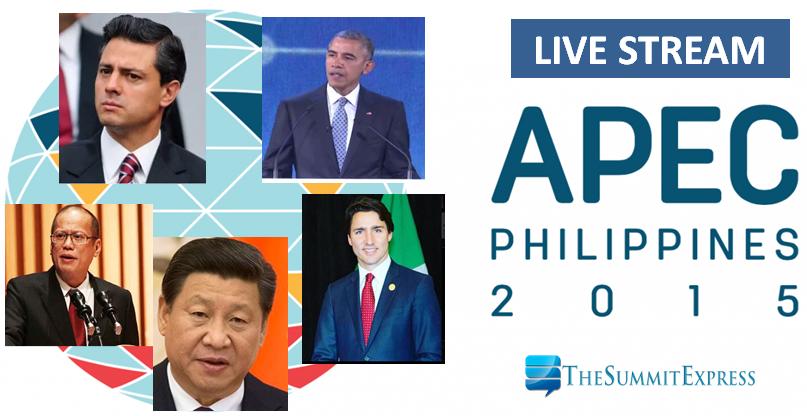 APEC 2015 Economic Leaders' Meeting, November 18-19