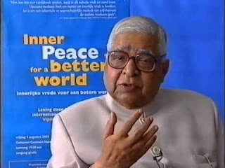 La paix intérieure pour un monde meilleur