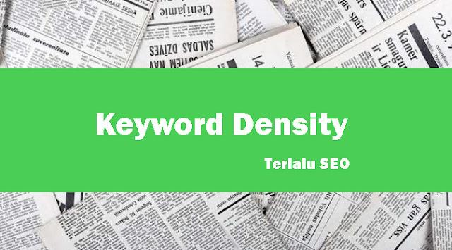 pengertian keyword density