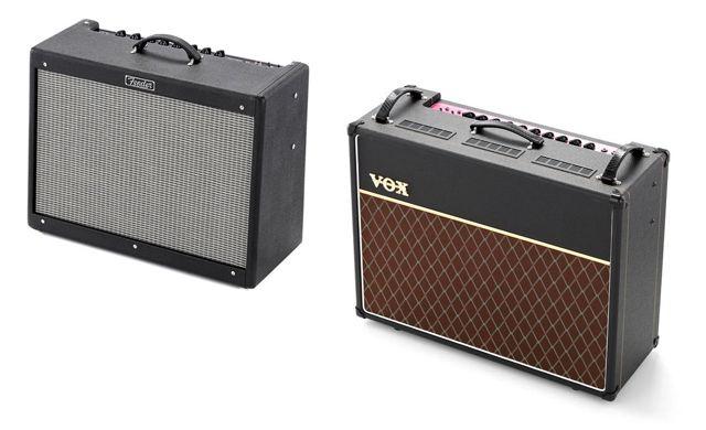 Amplificadores de Guitarra Eléctrica para Tocar en Sala Fender Hot Rod Deluxe III Vs Vox AC30 C2