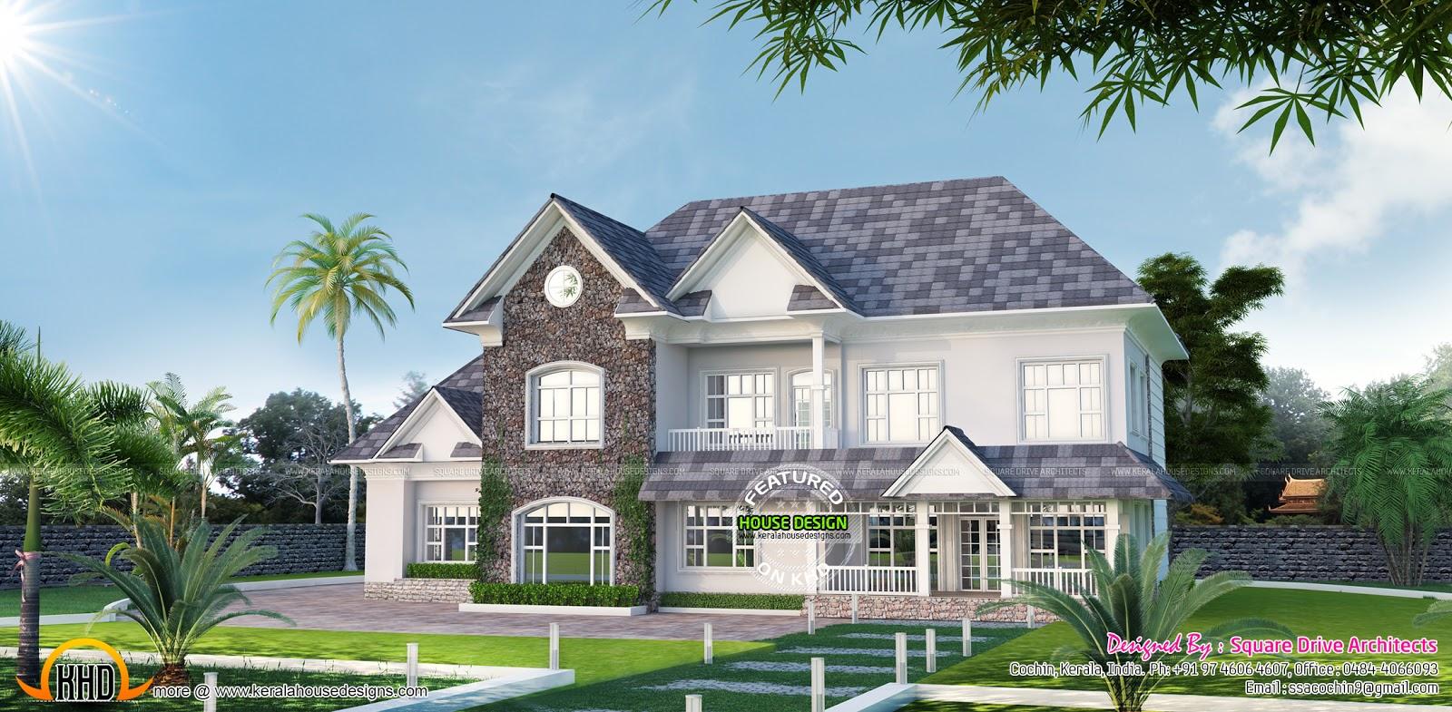 beautiful victorian style home design kerala home design victorian style home exterior trim victorian home exterior design