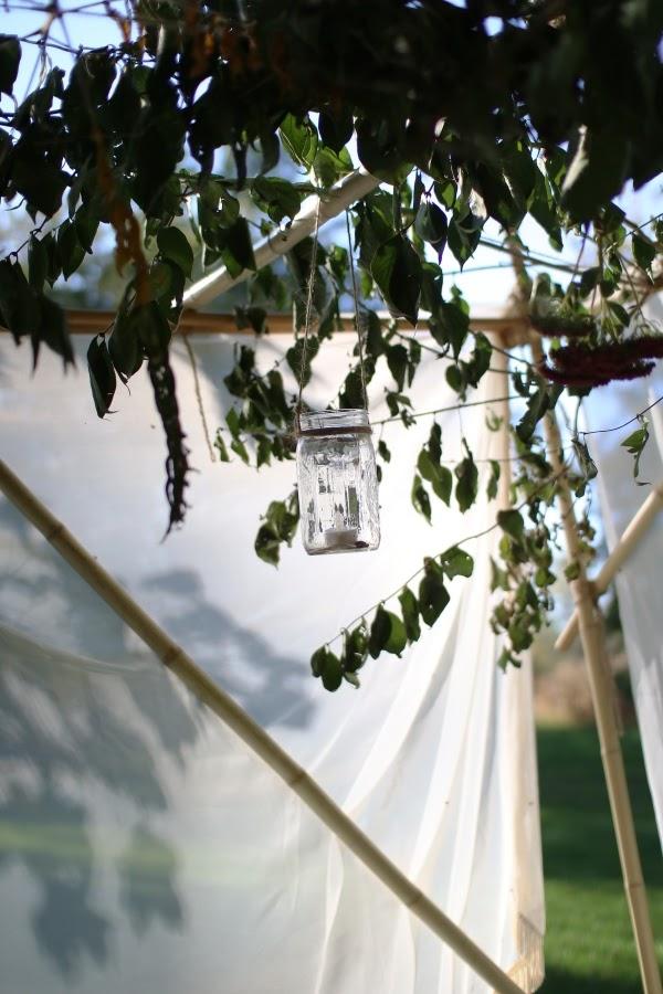 DIY hanging lanterns for the sukkah | Land of Honey