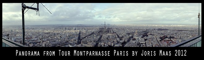 Panorama Paris - from Tour Montparnasse