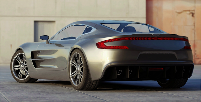 6.ASTON MARTIN ONE-77 $1.85 MILLION