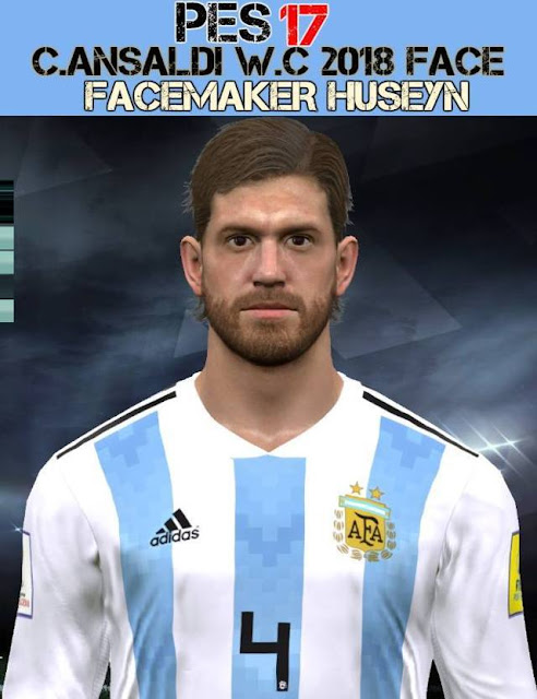 Cristian Ansaldi Face PES 2017