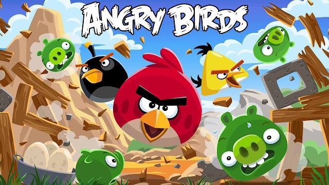 لعبة الطيور الغاضبة بأحدث اص