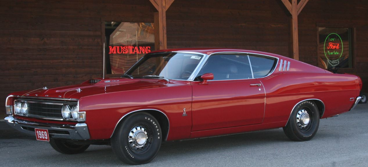 1969 Ford Torino Cobra with only 956 miles. Try and imagine buying a new  car 4e0f334f21