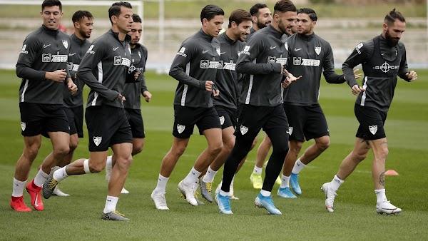 Málaga, hoy entrenamiento y rueda de prensa de Luis Hernández