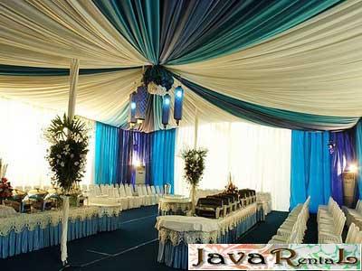 Penyewaan Tenda Dekorasi VIP - Murah
