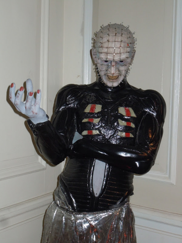 Pinhead Hellraiser special effects figure