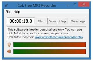 أفضل, برنامج, لتسجيل, الصوتيات, على, الكمبيوتر, Cok ,MP3 ,Recorder, اخر, اصدار