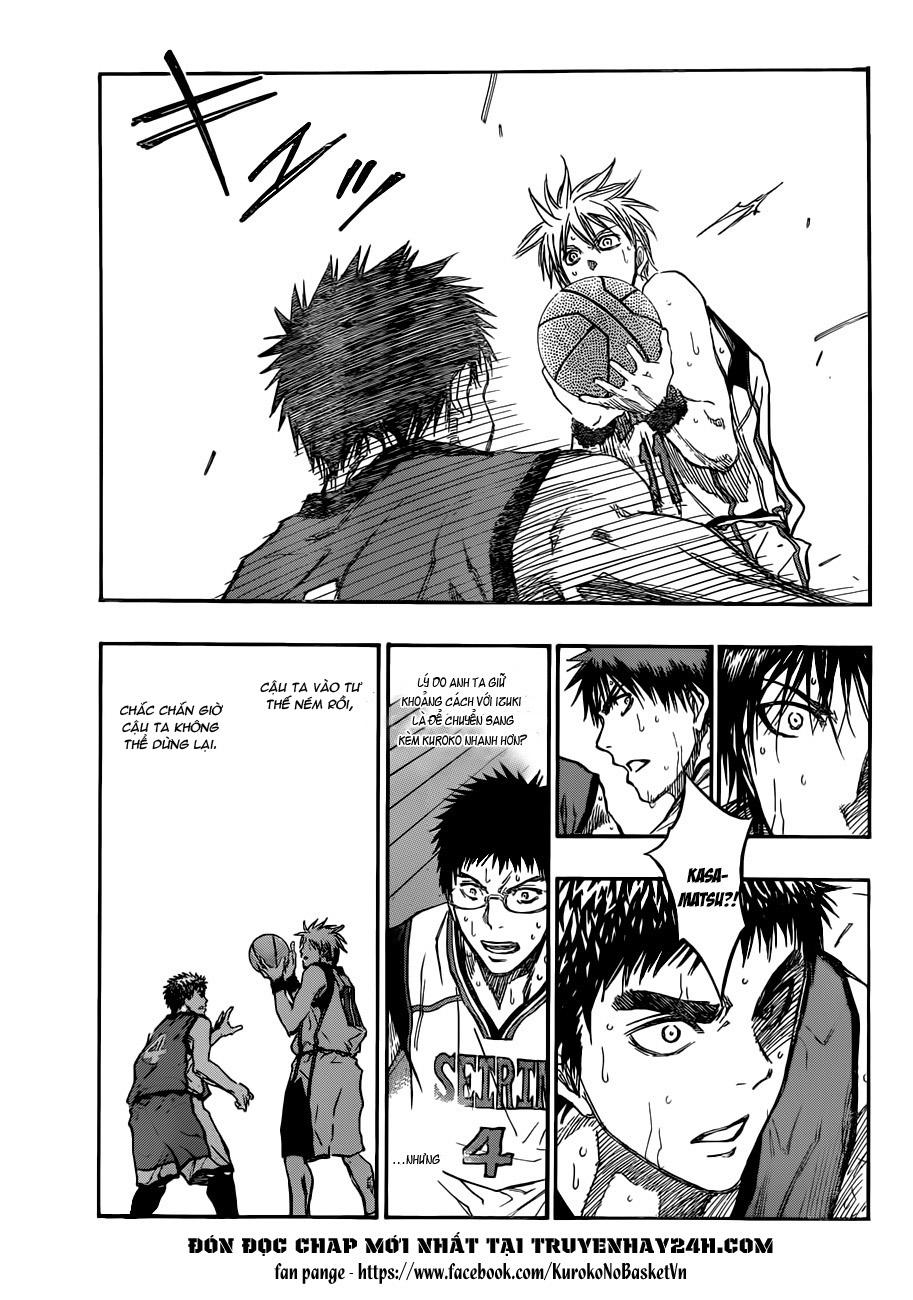 Kuroko No Basket chap 191 trang 9