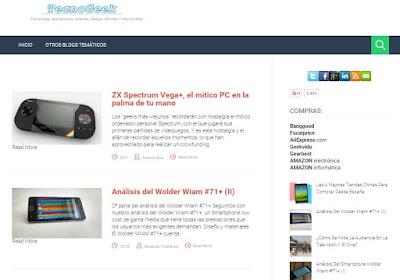 TecnoGeek, blog de tecnología