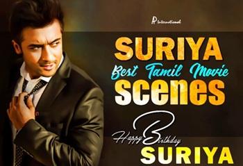 Suriya Birthday Special | Back To Back Movie Scenes | Kaakha Kaakha | Ghajini | Maayavi | HBDSuriya