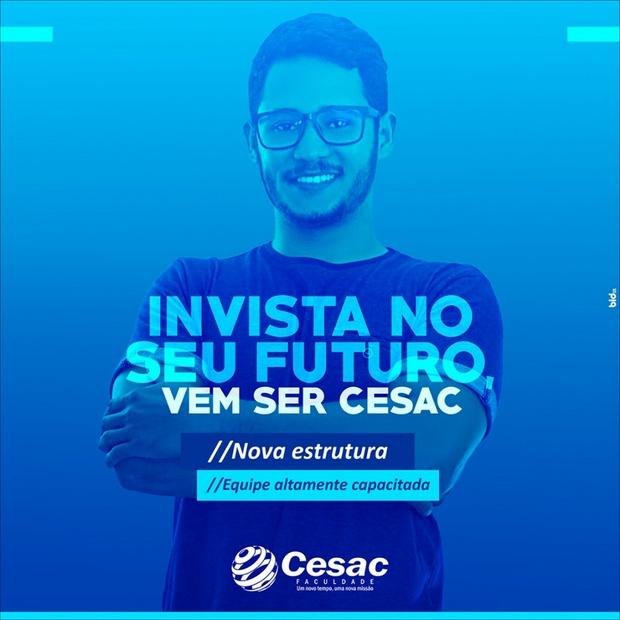 Faculdade Cesac - Um novo tempo, uma nova missão
