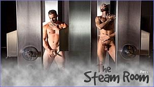 The Steam Room Part 1 – Jaxton Wheeler & Rikk York