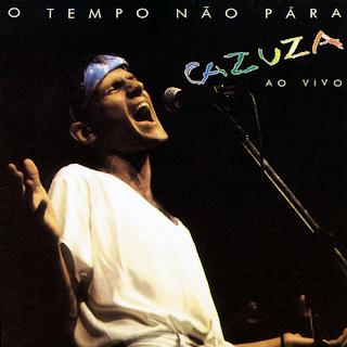 O Tempo Não Para ao Vivo - Disco lançado por Cazuza em 1989