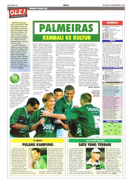 PALMEIRAS CLUB PROFILE