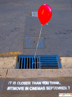 IT-movie guerilla marketing advertising