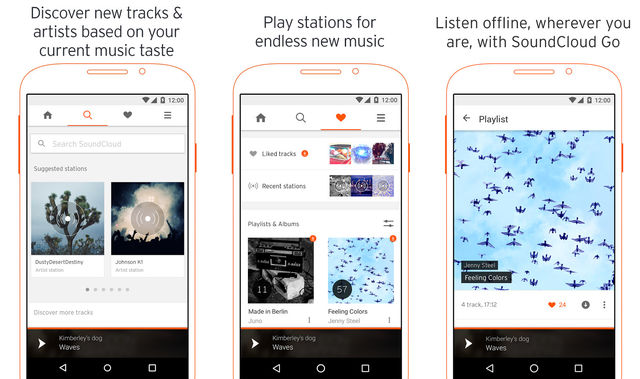SoundCloud App For Android