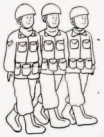Asker Resimleri Boyama Etkinlikleri Bilgi çeşnisi