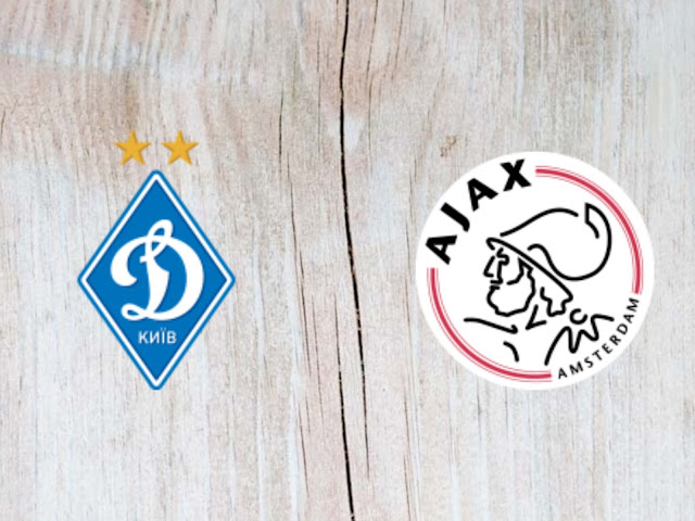 Dynamo Kyiv vs Ajax Full Match & Highlights - 28 August 2018