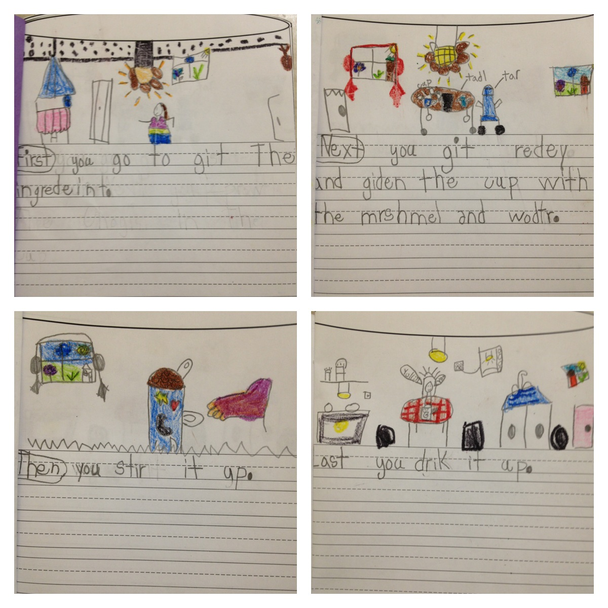 Primary Graffiti Blooming Authors Procedural Writing