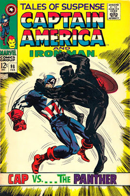 Tales of Suspense #98, Captain America vs the Black Panther