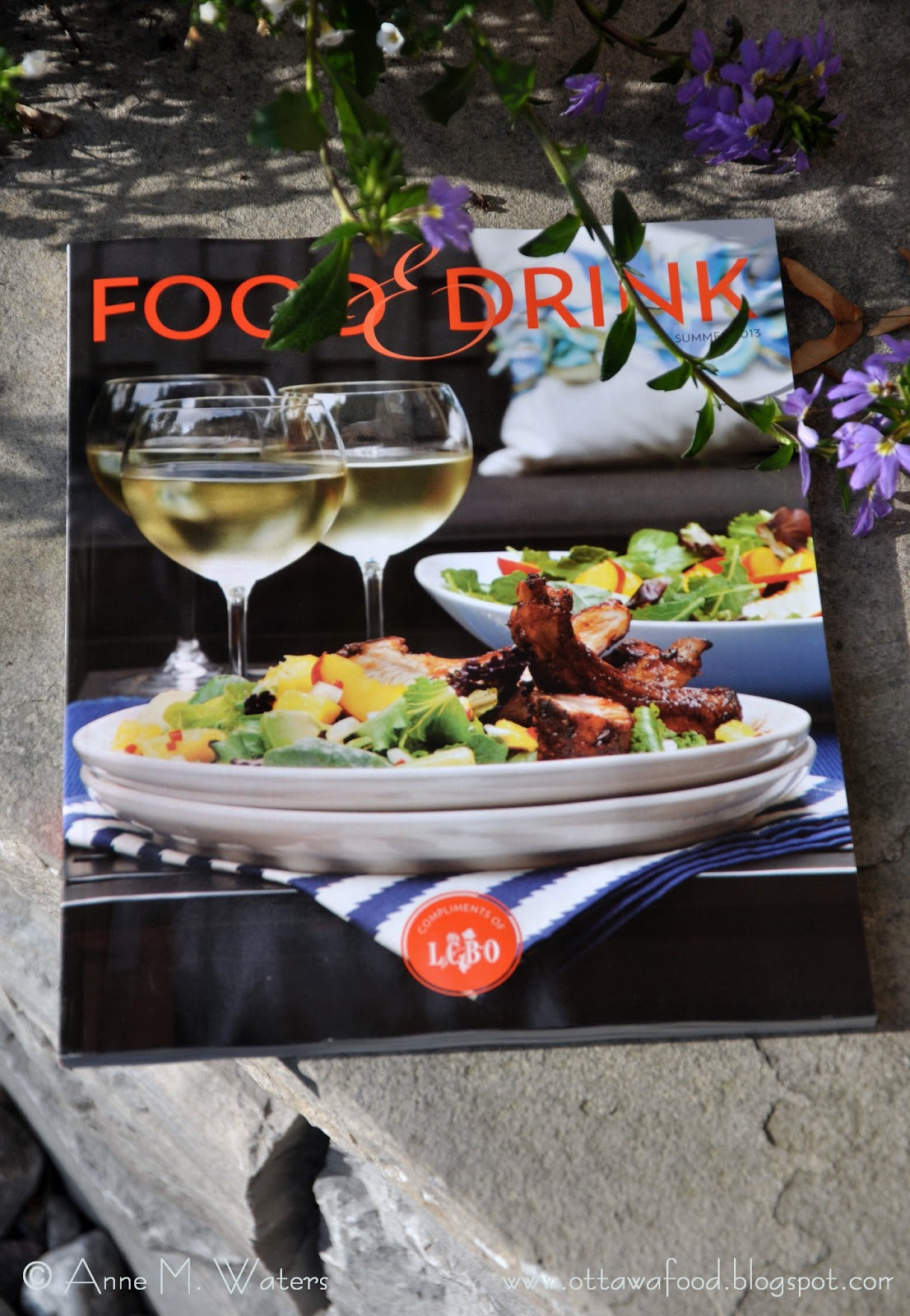 drink lcbo food summer magazine issue music