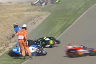 Marquez Pole Position, Rossi Keenam GP Aragon 2016
