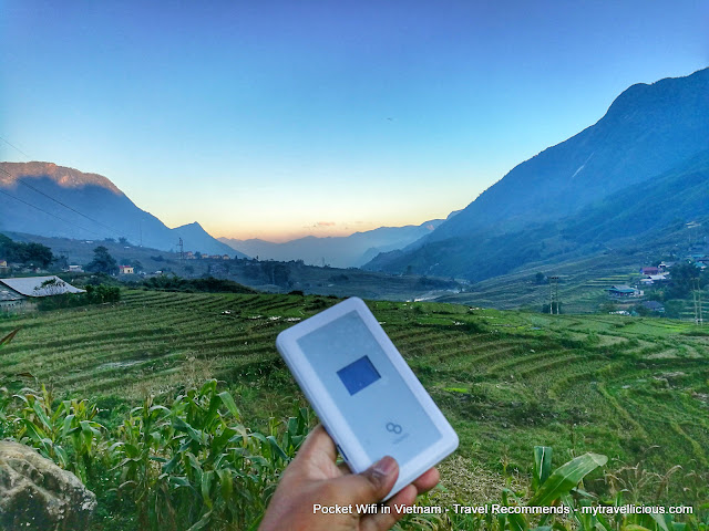 Travel Recommends - Review of Pocket Wifi When I Traveled in