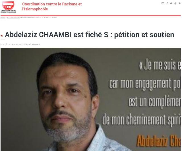Abdelaziz Chaambi, fiché S