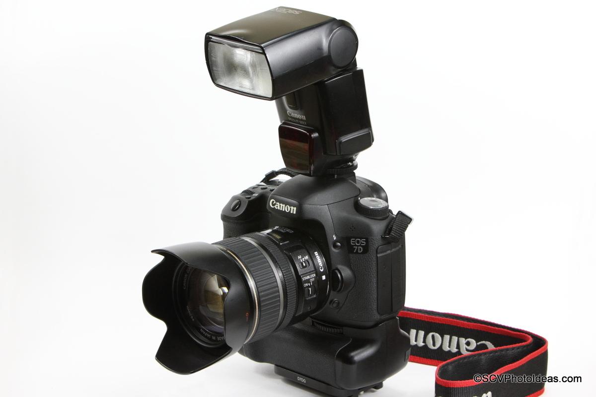 Canon Speedlite 580EX on Canon EOS 7D