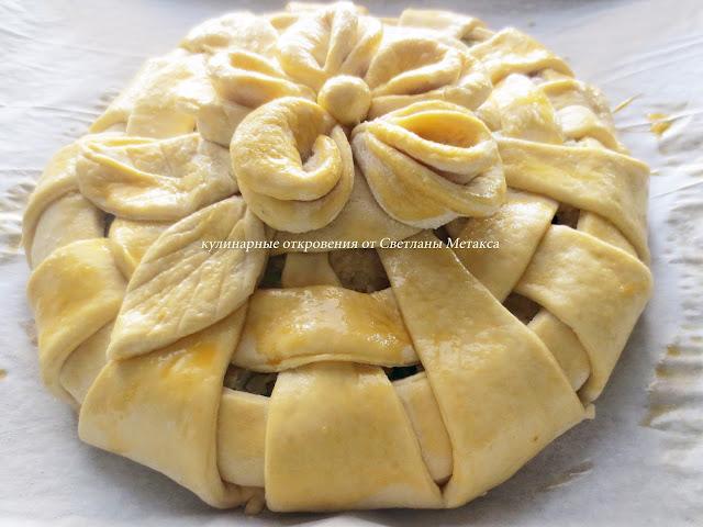 рецепты сладких пирогов дрожжевые фото