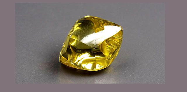 Another Large Yellow Diamond Unearthed