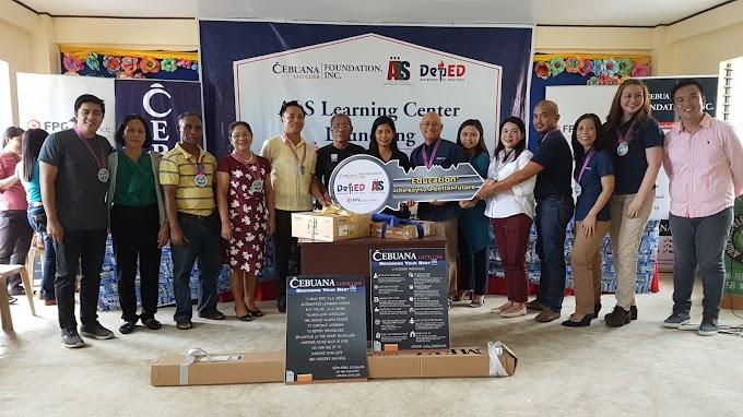 FPG Insurance and Cebuana Lhuillier Foundation open Iloilo Community Learning Center | Press Release