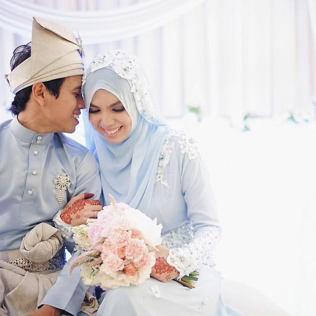 Gambar cun Cik Epal di majlis perkahwinan