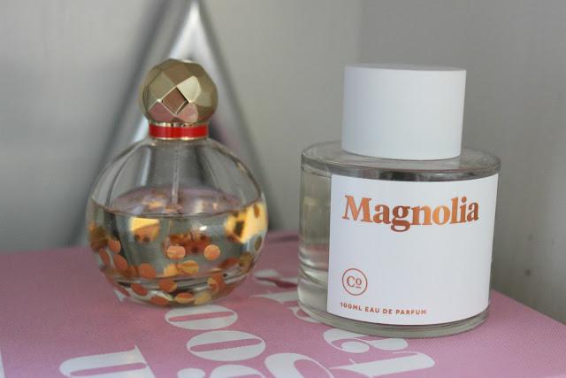 lancome, la vie est belle, miss dior, kate spade, prada candy, myny, magnolia