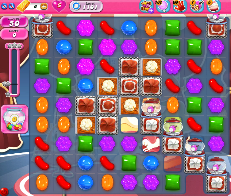 Candy Crush Saga 1101