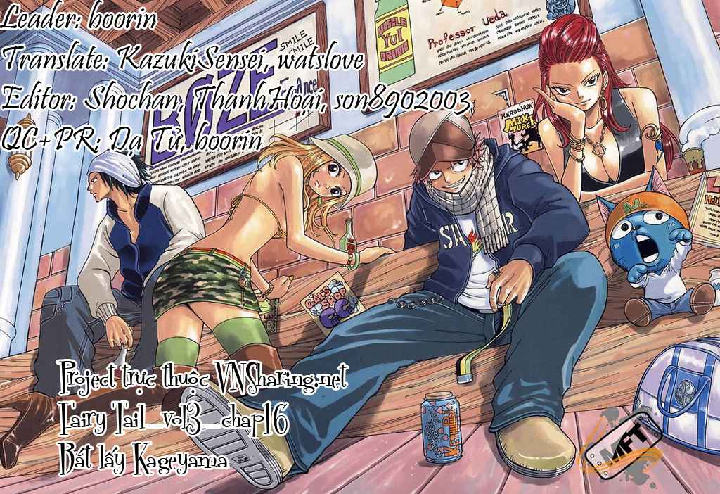 Fairy Tail Chap 16