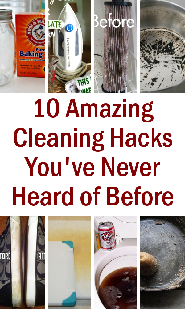 DIY Home Sweet Home: 10 Amazing Cleaning Hacks You've ...