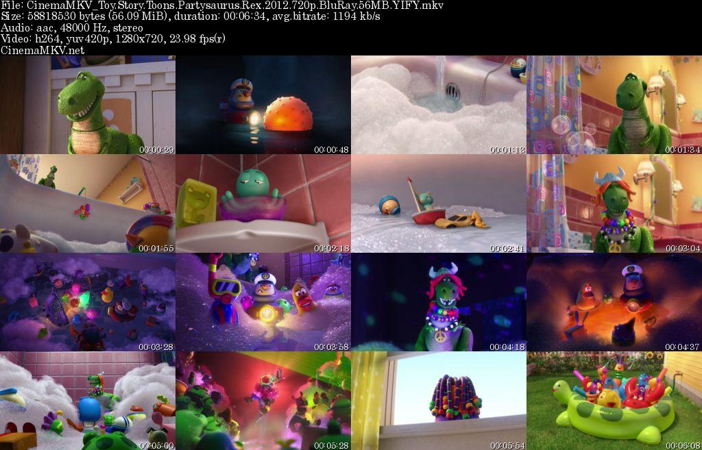 Toy Story Toons Partysaurus Rex 2012 Cinemamkv