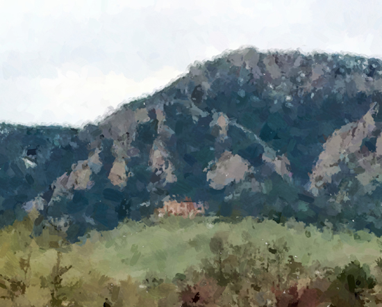 Sketch of NCAR from afar