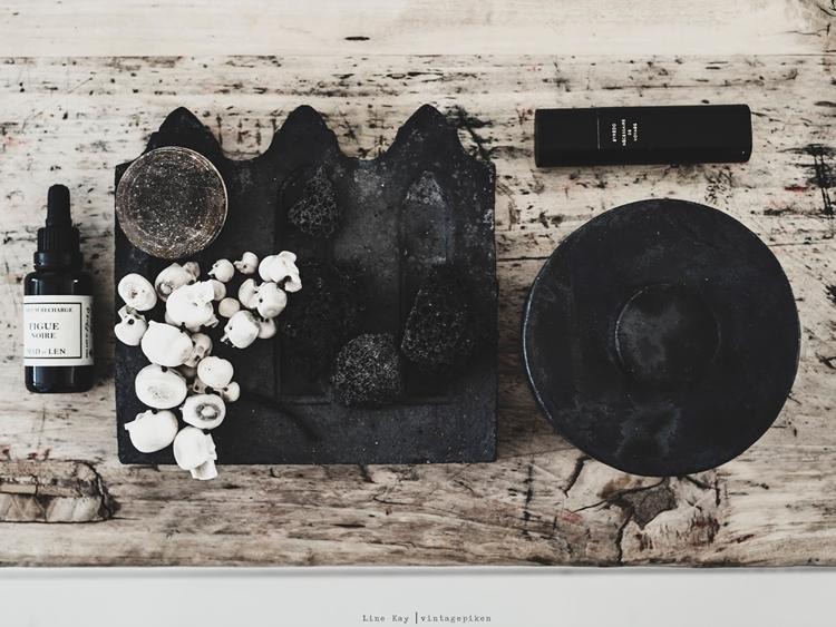 bandeja madera ratan natural estilo nordico decoracion nórdica conchas shell tray wooden