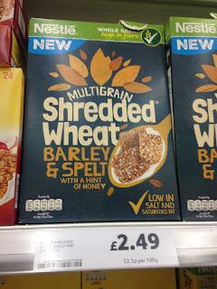 Nestle Multigrain Shredded Wheat Barley & Spelt
