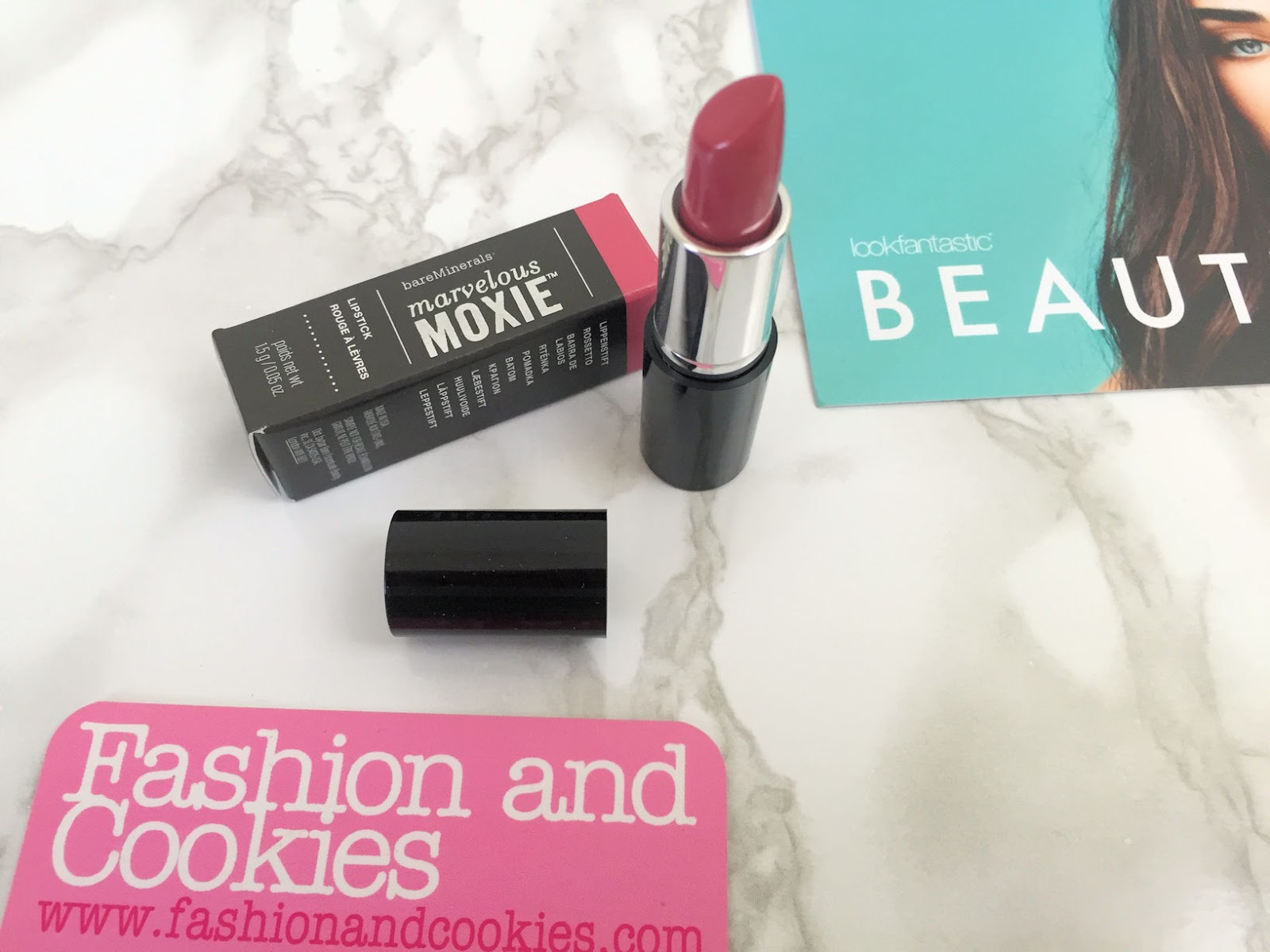 Lookfantastic Beauty Box di Settembre 2016 recensione Bare Minerals rossetto Get Ready su Fashion and Cookies beauty blog, beauty blogger