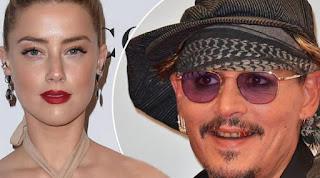 Kian memanas permasalahan antara Johnny Depp dan Amber Heard, yang mengurusi proses cerainya dengan mempertahankan ego masing-masing. (doc.mirror.co.uk)