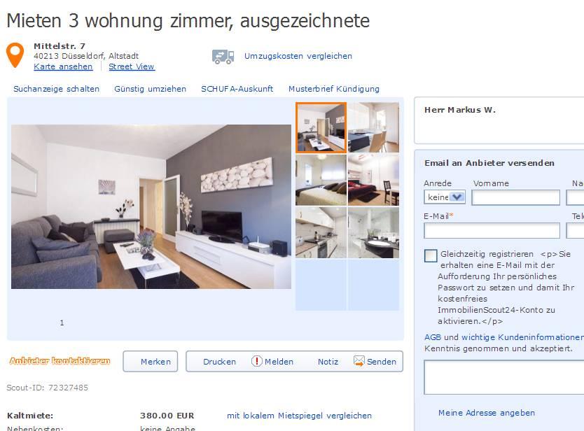 Wohnung Aachen Mieten