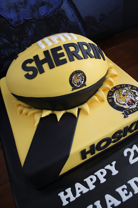 Sandy S Cakes Shaedon S Richmond 21st Football Cake